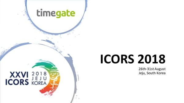 ICORS2018